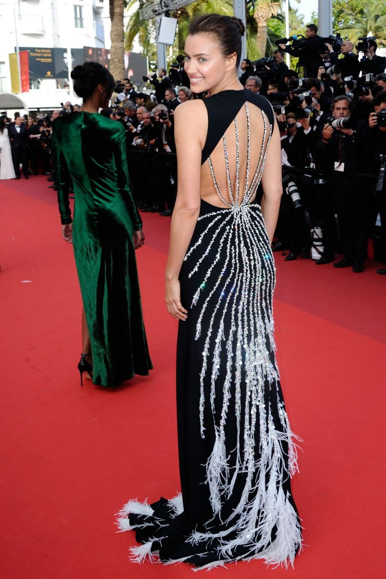 Irina Shayk in Miu Miu. 2016. Web. 23 May 2016. http://celebmafia.com/irina-shayk-unknown-girl-la-fille-inconnue-premiere-69th-cannes-film-festival-5182016-535770/.
