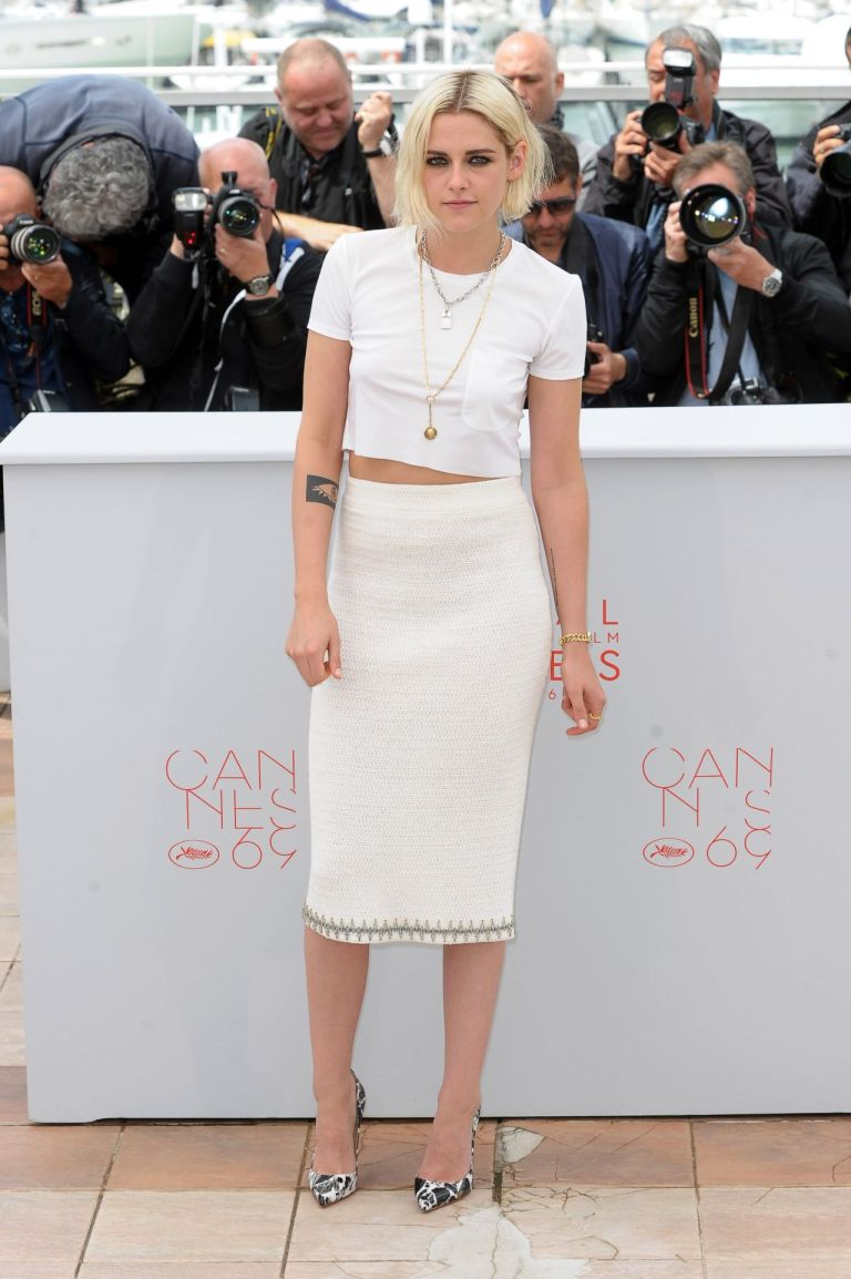 Kristen Stewart in Chanel. 2016. Web. 17 May 2016. http://celebmafia.com/kristen-stewart-cafe-society-photo-call-2016-cannes-film-festival-530839/.