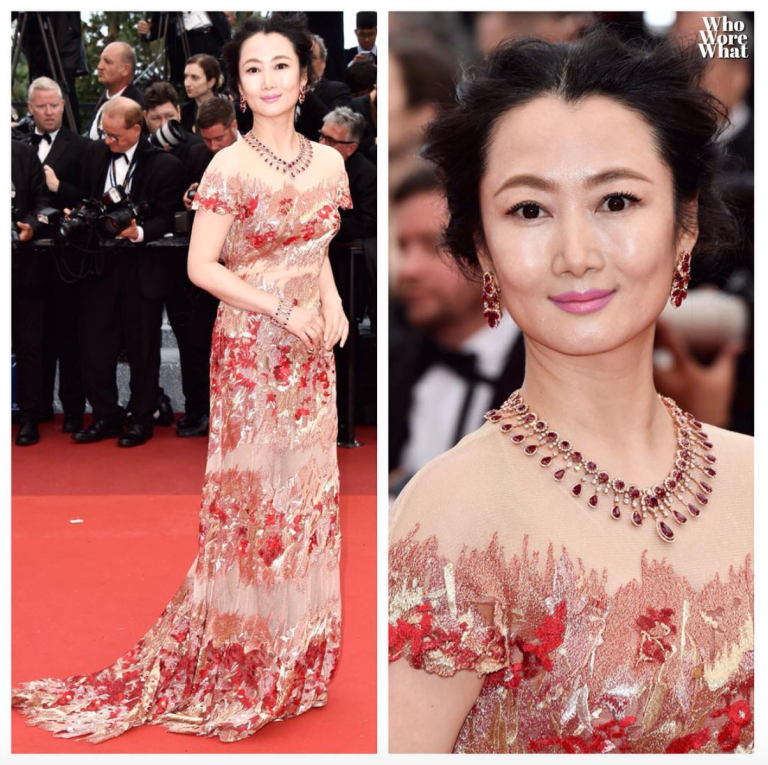 Zimbio. Zhao Tao. 2016. Web. 23 May 2016. https://www.instagram.com/p/BFT5WYghjXc/?taken-by=whoworewhat.
