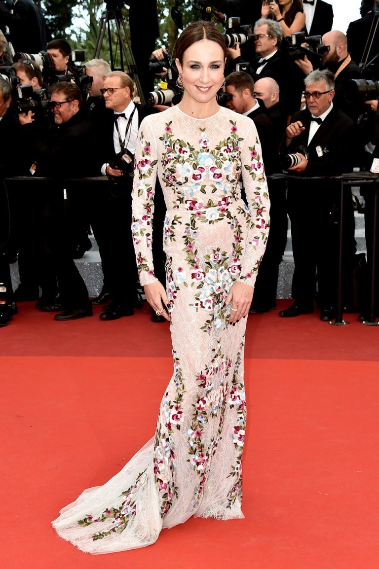 Le Segretain, Pascal. Elsa Zylberstein in Zuhair Murad. 2016. Web. 17 May 2016. http://www.vanityfair.com/style/photos/2016/05/cannes-red-carpet-best-dressed-2016#43.