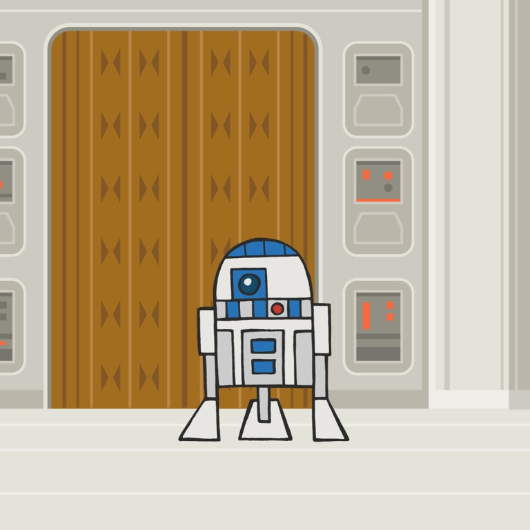 Yang, Jason. EP5: R2D2. Web. 15 Aug. 2016. http://www.invisibleelement.com/illustration/#/far-far-away/.
