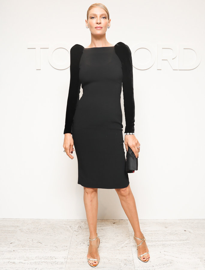 Rasmus, Neil. Uma Thurman in Tom Ford. 2016. Web. 8 Sept. 2016. http://www.instyle.com/news/uma-thurman-tom-ford-nyfw-black-dress.
