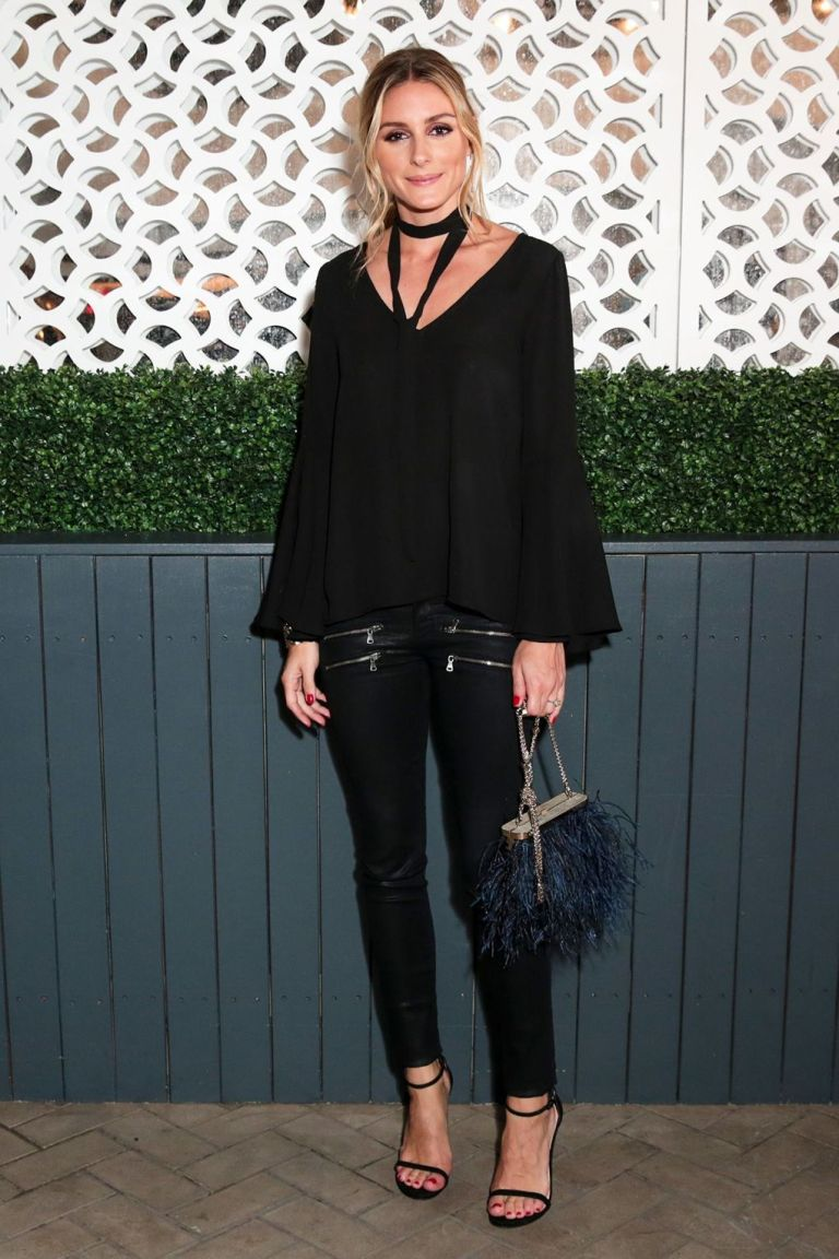 REX. Olivia Palermo in a Jay Godfrey Blouse, Paige Pants, & Stuart Weitzman Shoes. 2016. Web. 18 Sept. 2016. http://www.vogue.co.uk/gallery/new-york-fashion-week-celebrities-front-row-parties-ss17.