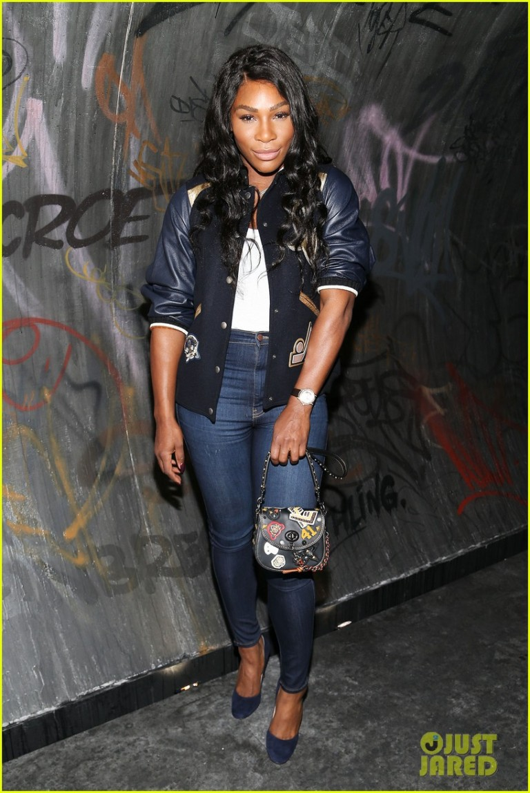 Getty. Serena Williams in Coach. 2016. Web. 17 Sept. 2016. http://www.justjared.com/photo-gallery/3758759/coach-new-york-fashion-week-show-05/.