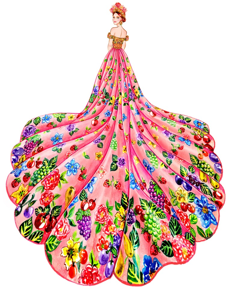 Gu, Sunny. Glamour, Dolce & Gabbana Alta Moda Fall 2015 Couture. 2015. Web. 12 Sept. 2016. http://sunnygu.com/Glamour.