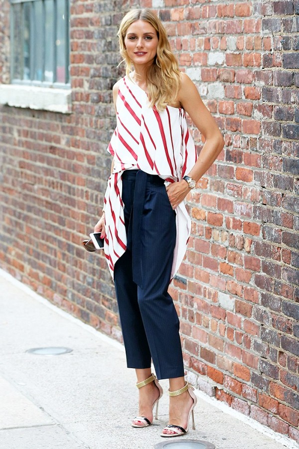 Splash News. Olivia Palermo in Banana Republic. 2016. Web. 18 Sept. 2016. http://www.whowhatwear.com/olivia-palermo-nyfw-outfits-spring-summer-2017/slide5.