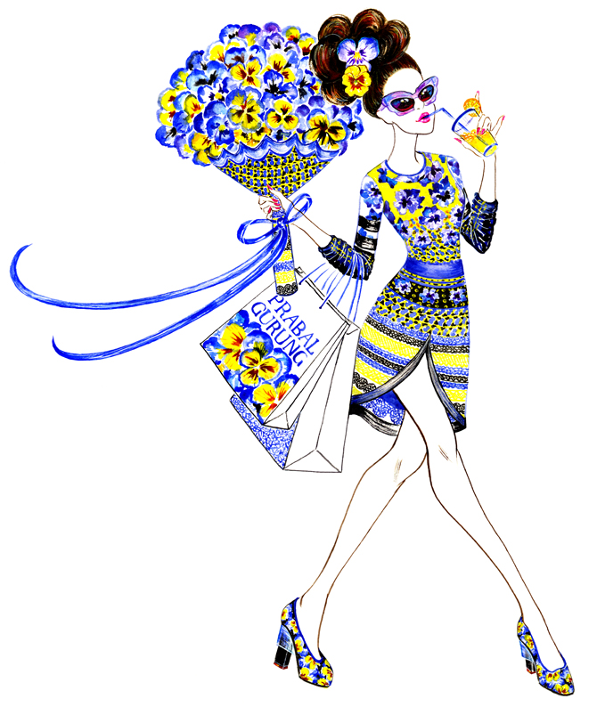 Gu, Sunny. Miss Prabal Gurung, inspired by Prabal Gurung Resort 2014. 2015. Web. 12 Sept. 2016. http://sunnygu.com/Lifestyle-series.