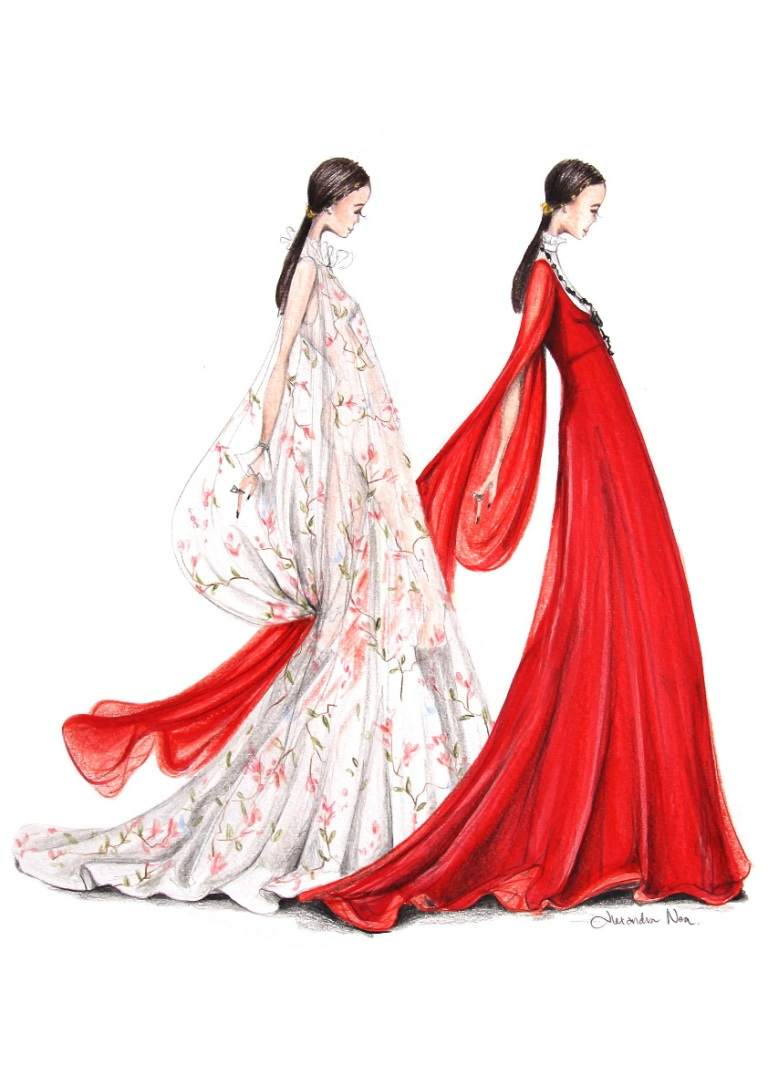 Graham, Alexandra N. Valentino F16 Couture 2 Figures Lores. Web. 7 Sept. 2016. http://www.alexandranea.com.au/dt_gallery/runway-2016/.