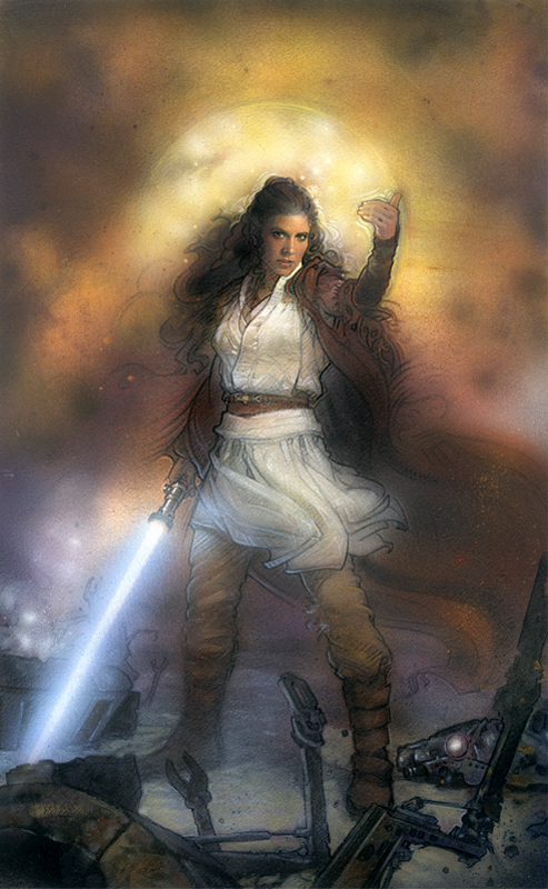 Nielsen, Terese. Leia Solo. 28 Dec. 2016. www.tnielsen.com/Star_Wars.php
