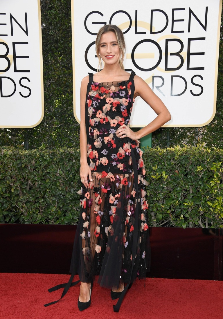 Harrison, Frazer. Renee Bargh in Rachel Gilbert. 2017. Accessed 9 Jan. 2017. nymag.com/thecut/2017/01/2017-golden-globes-all-the-red-carpet-looks/slideshow/2017/01/06/all_the_red-carpetlooksfromthegoldenglobes/GettyImages-631235522_master/